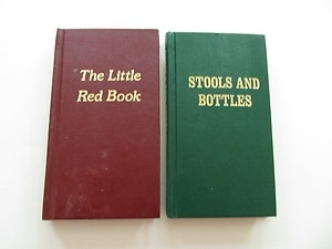 The Little Red Book and Stools and Bottles